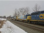 CSX Auto Rack at Railfan Bluff